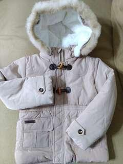 全新 麗嬰房 鋪棉 防水 保暖 外套