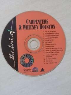 Karaoke VCD Carpenters/Whitney Houston