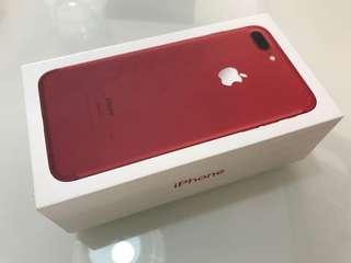 7plus Iphone Apple RED 128gb