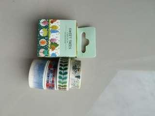 Cute Washi Tape Set C (6 pieces)