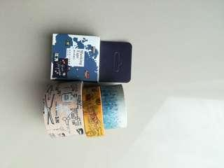 Cute Washi Tapes Set C (4 pieces)