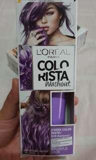 L'Oreal Colorista Washout #PurpleHair