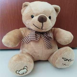 Sitting teddy bear