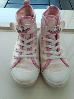 H&M canvas hello kitty sneakers