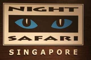 Zoo USS SEA ACW River Safari night Jurong bird Trick Eye Museum Sentosa Aquarium adventure cove Universal Studio Snow city Madame Tussaud adventure Sentosa Jurong Bird park