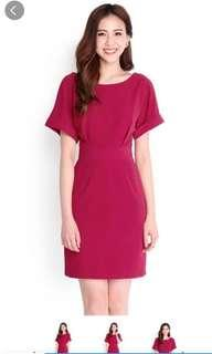 Lilypirates Wine Red Dress