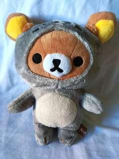 Rilakkuma in Squirrel Plush