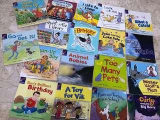 Preschool English books bundle of 18