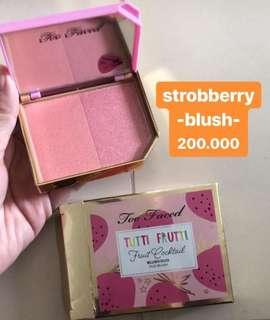 Too faced strobery blush duo