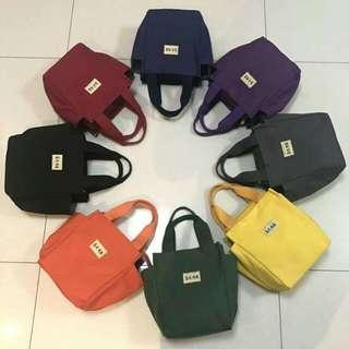 【團購】韓版大容量手提帆布包媽媽包-素色款
