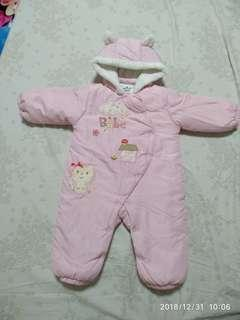 Boby suit is new but wash, pant wear a few time $250 for all, 6-12m