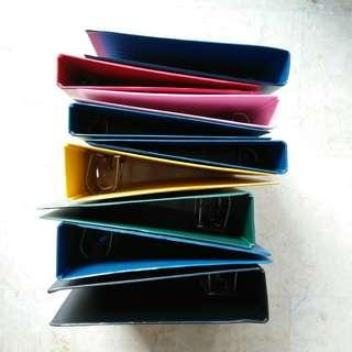 hardcover ring files