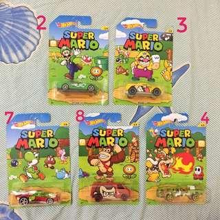 SALE Hot Wheels Super Mario mainan toy mobil