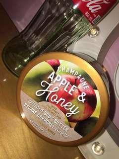 Champagne Apple & Honey Bath and Body Works Body Butter