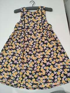 Mike & Gala A-line Mini Summer Dress