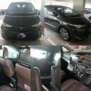 Spacious MPV for rent