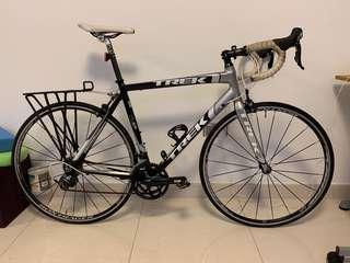 Trek aluminium road bike 105 group set size 56cm