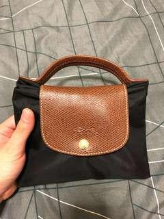 Longchamp briefcase travel bag