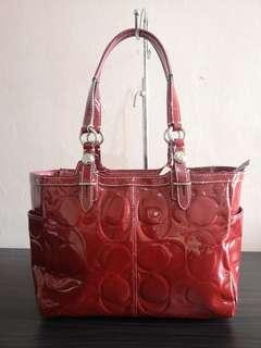 Authentic Brand new Coach Bag in Red