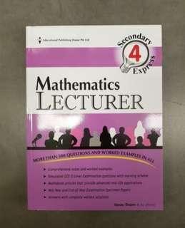 Secondary 4 Express Mathematics Assessment Book