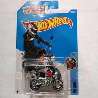 Hot Wheels Honda Monkey - red