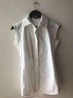 Firm on price.  Excellent condition Authentic Dolce And Gabbana stretch cotton top - m