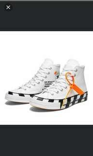 Off White Converse US 6