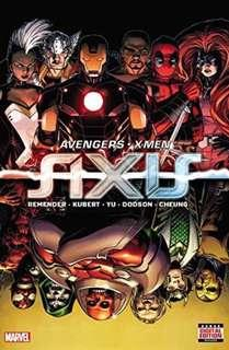 [NEW, SEALED] Avengers & X-Men: Axis (Hardcover)