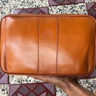 FRANZI leather clutchbag