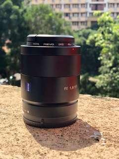 Rent / Sewa Sony FE 55mm f1.8 T* Zeiss Sonnar