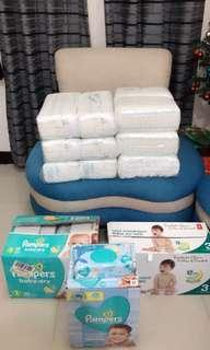 Pampers and kirkland babies diapers CANADA