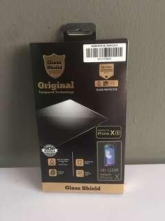 iPhone XS GLASS SHIELD HD tempered glass