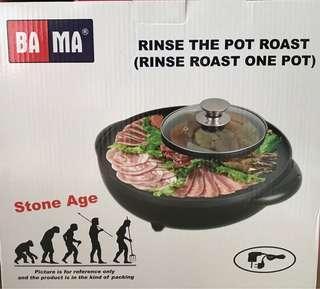 火鍋及韓式燒烤兩用爐