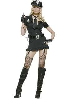 Cop police costume size small