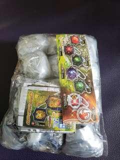 Bandai 扭蛋,「幪面超人系列」匙扣第三彈全套12隻