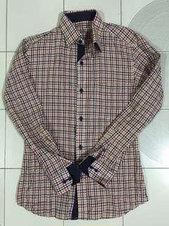 Colourful checkered shirt