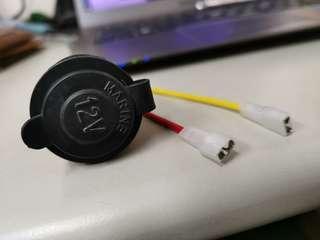 12v marine cigarette lighter socket for car