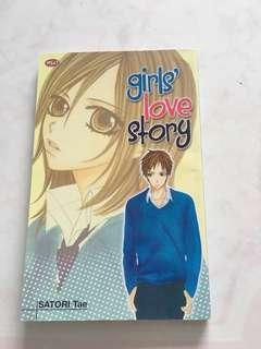 Komik girls' love story