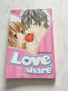 komik love share