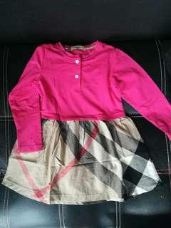 Burberry dress lucuu like new
