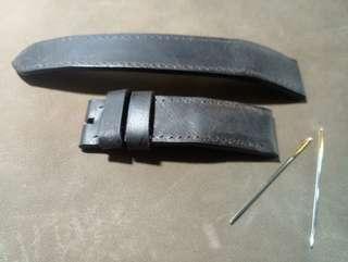 手作皮革~真皮錶帶~香港製造