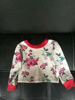 Top flower sweater carters baby