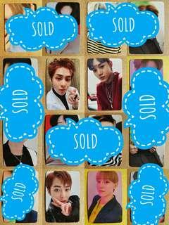LAST OFFER - EXO LOVE SHOT PHOTOCARDS SET
