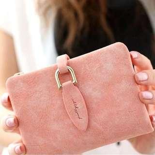 [NEW] Pink retro cute student wallet