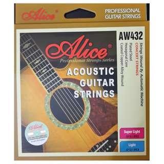 結他用品 - Alice AW432鋼線結他線 (Alice guitar string)