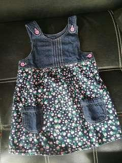 Dress jeans flower little m