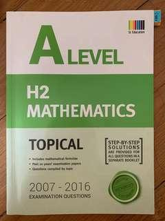 A levels H2 Maths Topical TYS