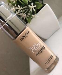 Brand new L'Oréal true match foundation