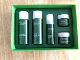 Natural Republic (whitening & wrinkle improvement) Ginseng Royal Silk trial kit