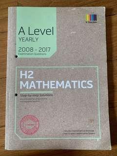 A levels H2 Maths Yearly+ RI answers